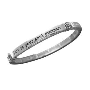 3 John 1:2 Scripture Bracelet