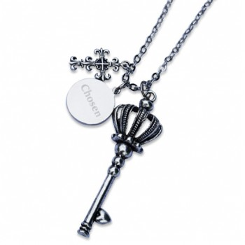 Chosen Crown Key Necklace