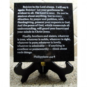 Custom Scripture Tile
