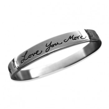 Love You More Bangle Bracelet