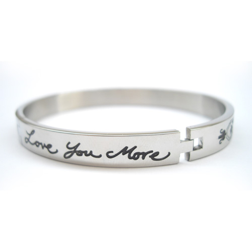 Love You More Bangle Bracelet