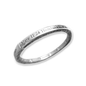Mark 11:24 Scripture Bracelet