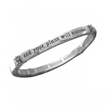 Proverbs 16:3 Scripture Bracelet