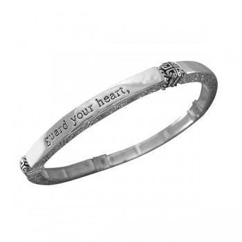 Proverbs 4:23 Scripture Bracelet