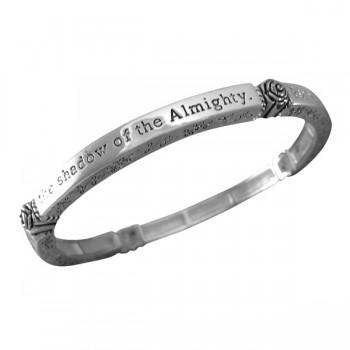 Psalm 91:1 Scripture Bracelet