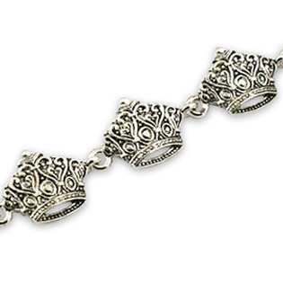 Seven Crown Bracelet (Heart Style)