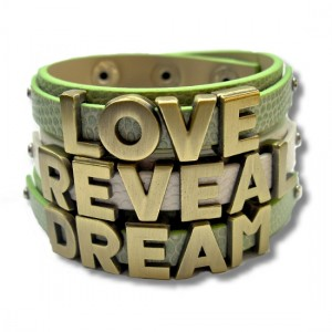 Word Stacked Bracelets