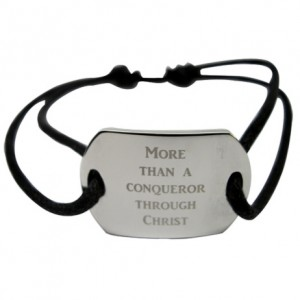 Men's Stainless Steel Dog Tag Bracelet