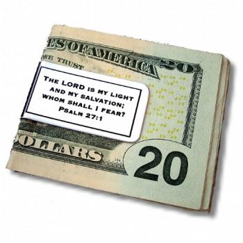 Money Clip with Scripture
