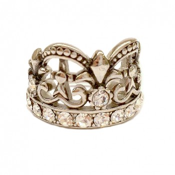 crown ring front good