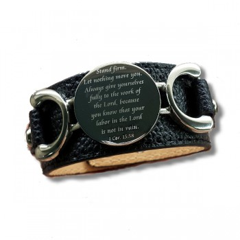 Fashion Forward Custom Scripture Bracelet