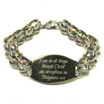 ID Caged Bead bracelet main